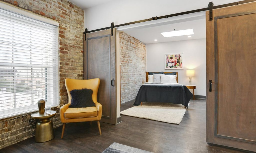 Gotham Lofts Bedroom